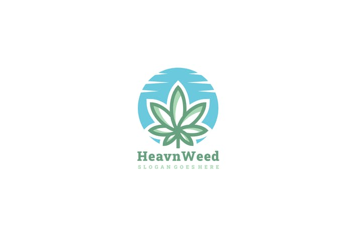 Thumbnail for Heaven Weed Logo