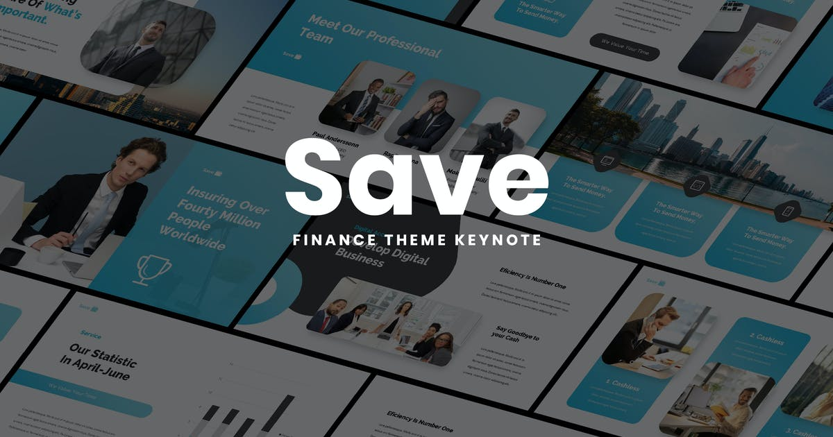 Download Save - Multipurpose Keynote Presentation by Slidehack