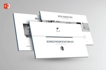 BLACK & WHITE Multipurpose Powerpoint Template V25