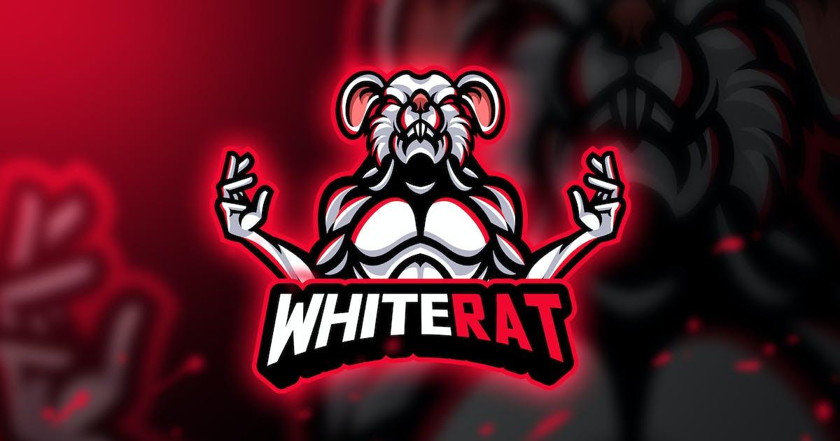 Download WhiteRat - Mascot & Esport Logo by aqrstudio