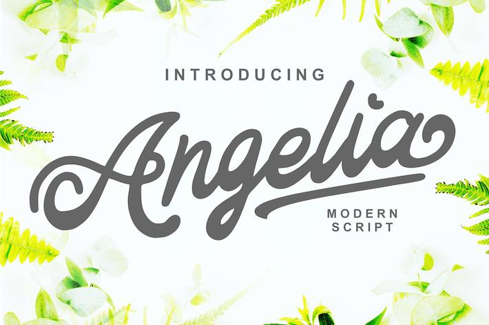 Thumbnail for Angelia - Escritura Moderno