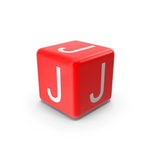 Красный J блок