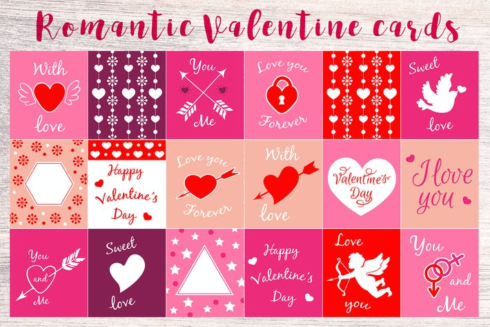 Thumbnail for Romantic Valentine Cards