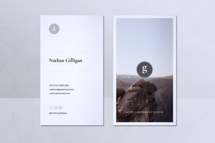Thumbnail for Minimalist Business Card Vol. 28