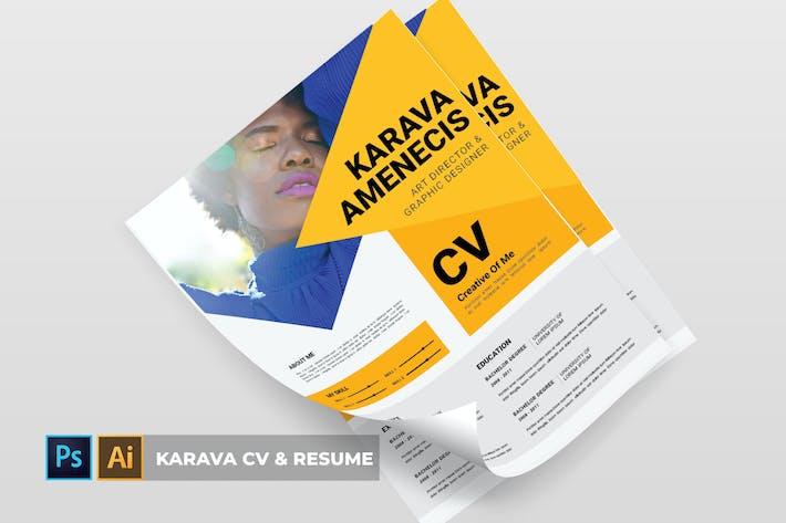 Thumbnail for Karava | CV & Resume