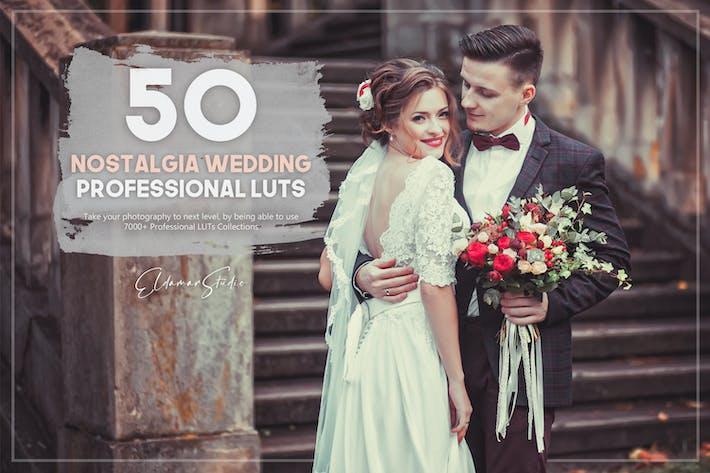50 Ностальгия Свадебные LUT пакет