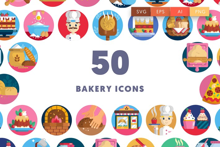 Thumbnail for Bakery Icons