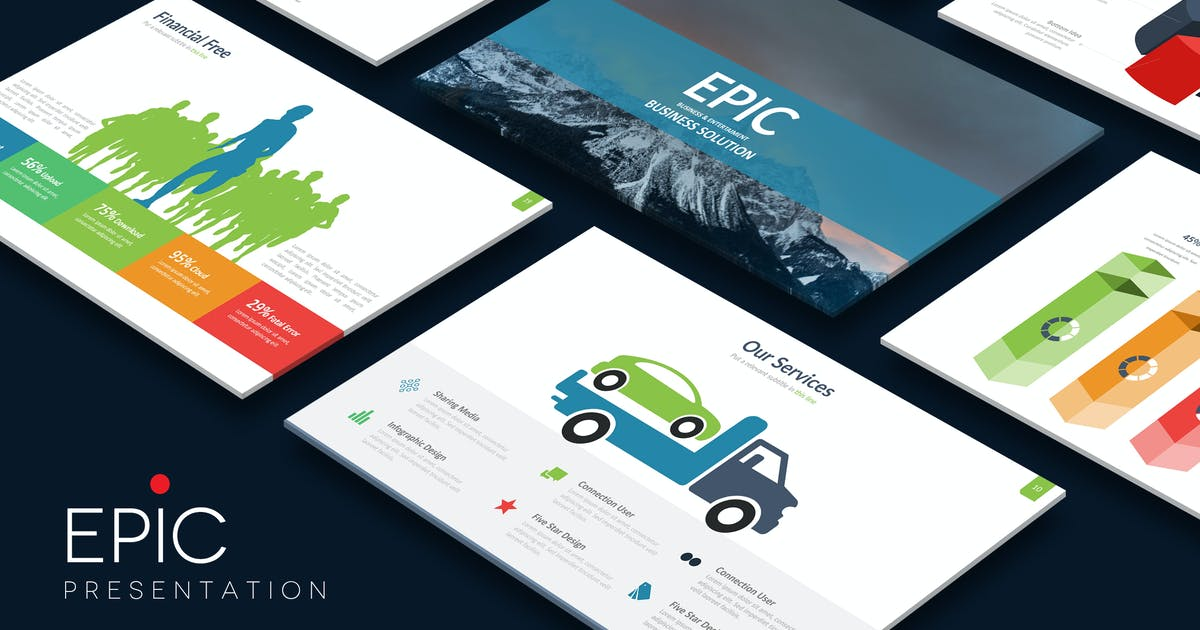 EPIC Powerpoint Template by Unknow