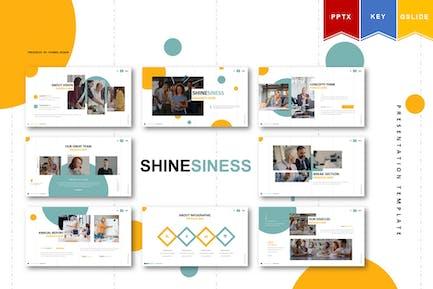 Shinesiness | Powerpoint, Keynote, Google Slides