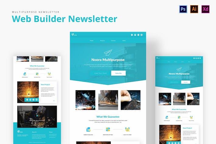 Cover Image For Web Builder Newsletter