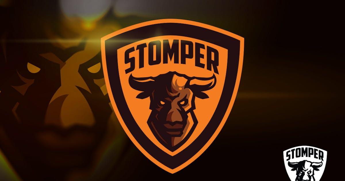 Download Angry Bull Mascot Esports Logo by Suhandi