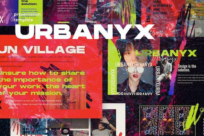 Thumbnail for URBANYX - Google Slide