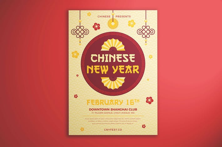 Cover Image For Chinese New Year Flyer