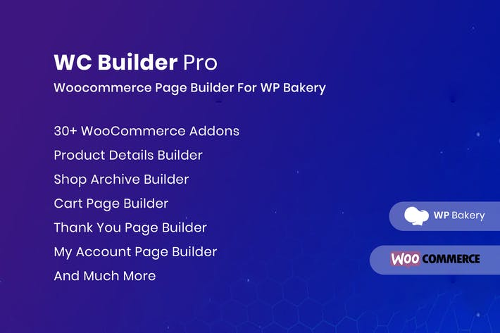 Cover Image For WC Builder Pro — WooCommerce Page Builder für WPbA