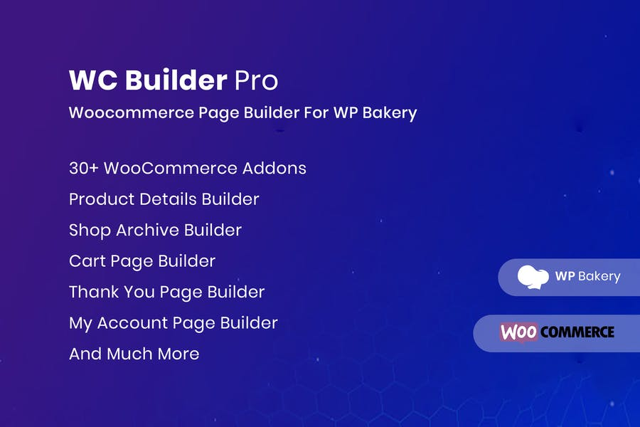 WC Builder Pro — WooCommerce Page Builder для WPBa