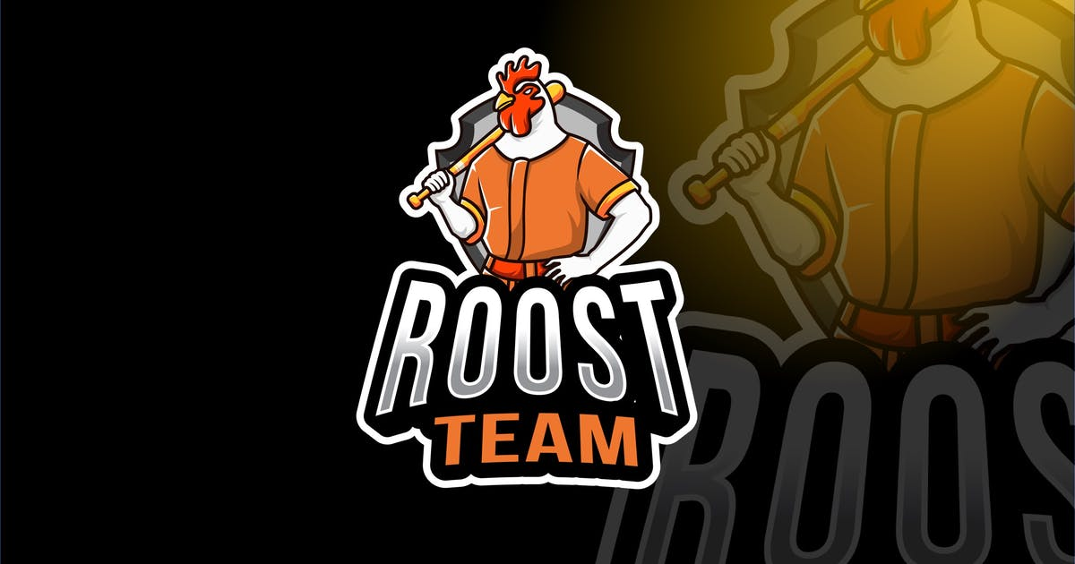 Download Rooster Team Sport Logo Template by IanMikraz