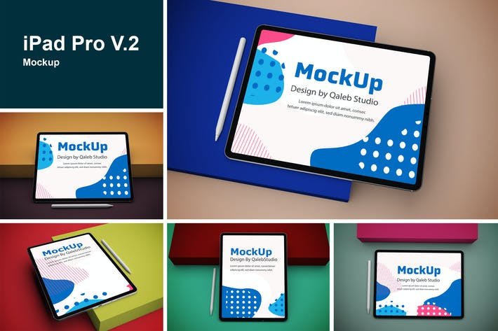Thumbnail for iPad Pro V.2 Mockup