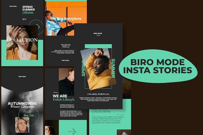 Biro-Modus - Insta Storys Vorlage