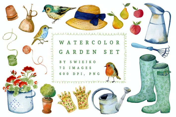 Thumbnail for Watercolor Gardener