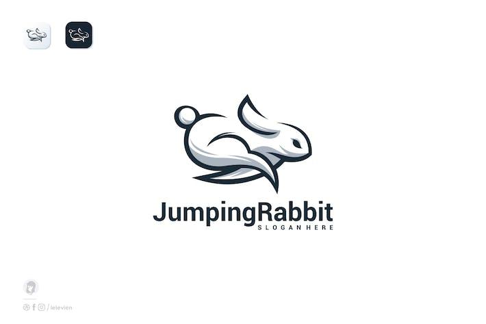 Thumbnail for Rabbit jump Logo template