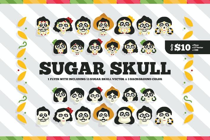 Thumbnail for Набор Флаер сахарного черепа