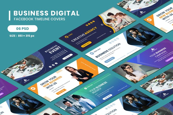 Thumbnail for Facebook Timeline Covers Business Digital
