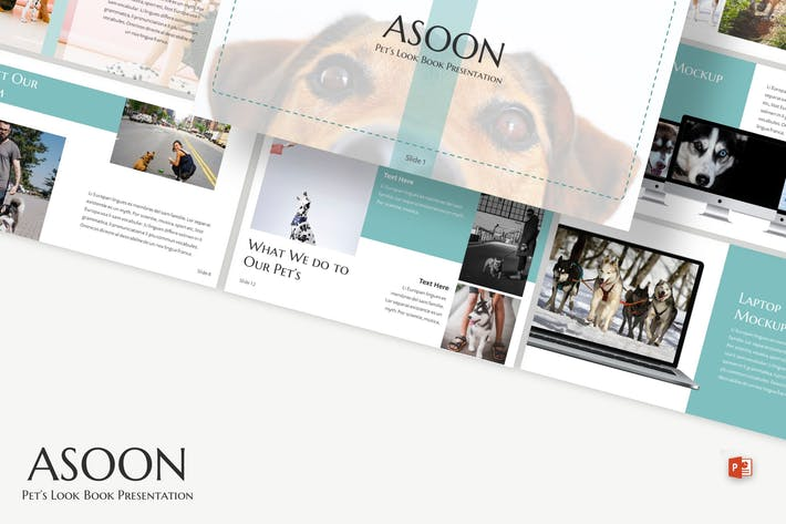 Thumbnail for Asoon - Powerpoint Template