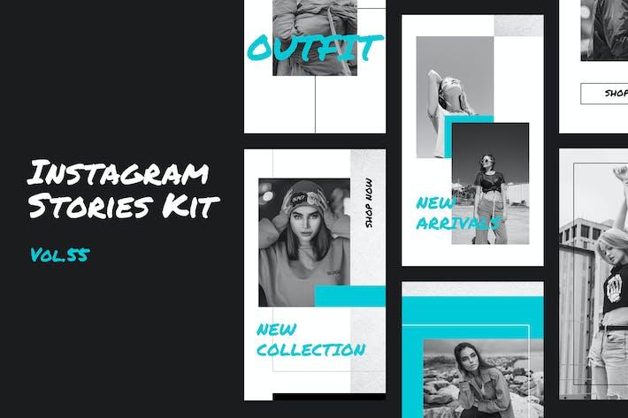 Thumbnail for Instagram Stories Kit (Vol.56)