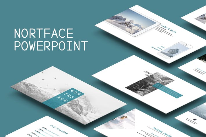 Thumbnail for Northface Powerpoint Template