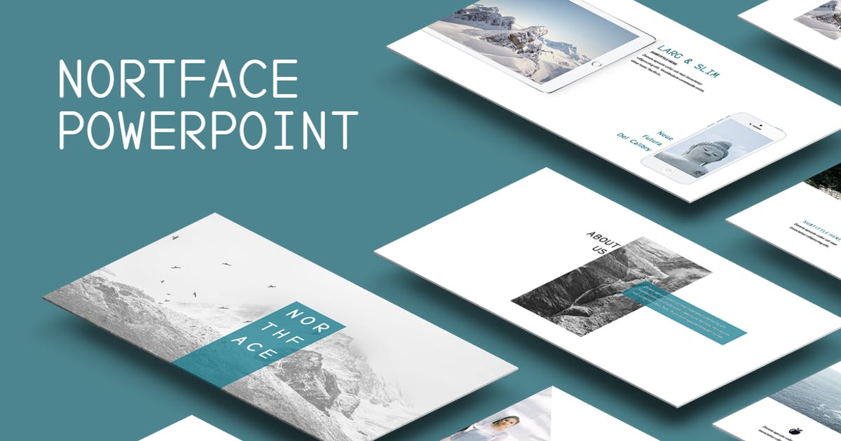 Download Northface Powerpoint Template by Unknow