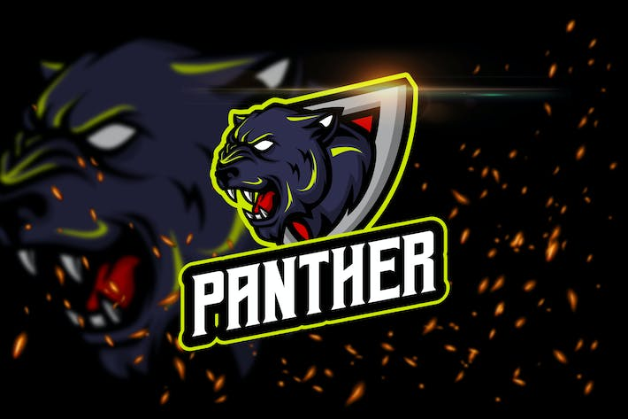 Thumbnail for The Panther - Angry Animal eSport Logo Template