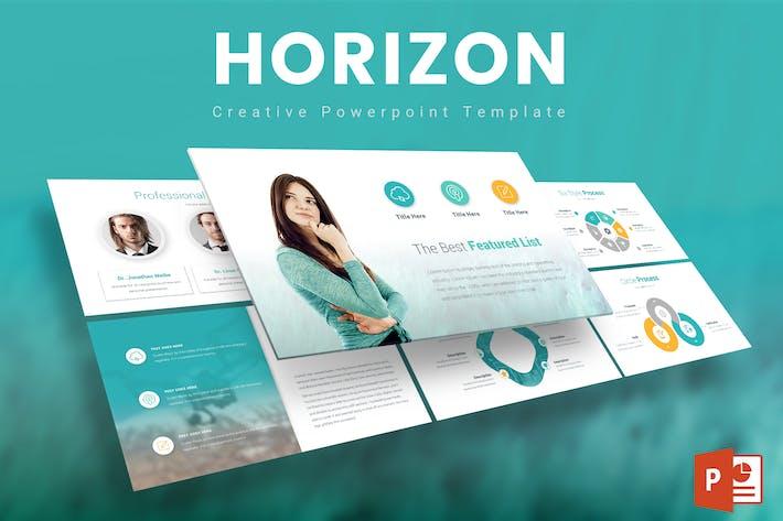 Thumbnail for Horizon - Powerpoint Template