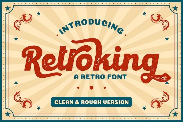 Thumbnail for Retroking - Fuente de estilo retro