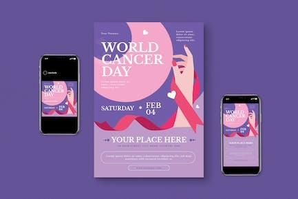 Cancer World Flyer Set