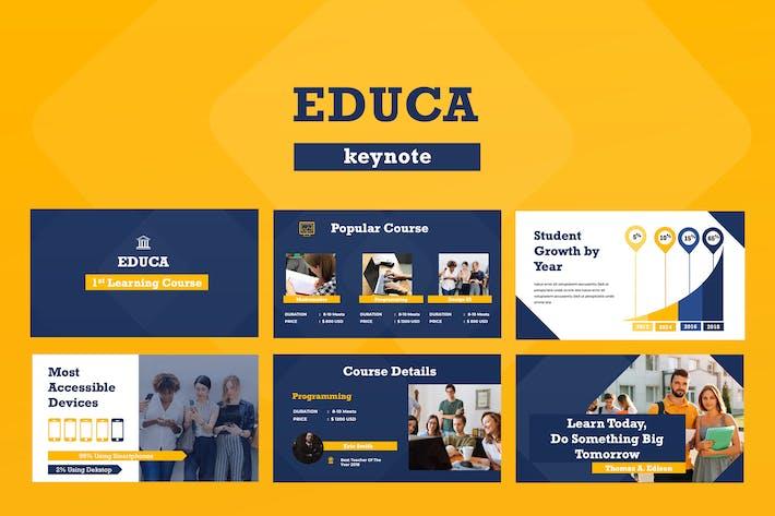 Educa Keynote Presentation