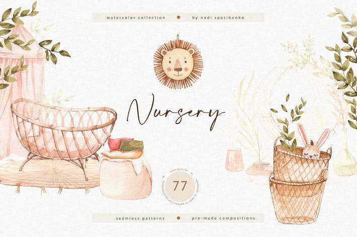 Thumbnail for Watercolor Nursery