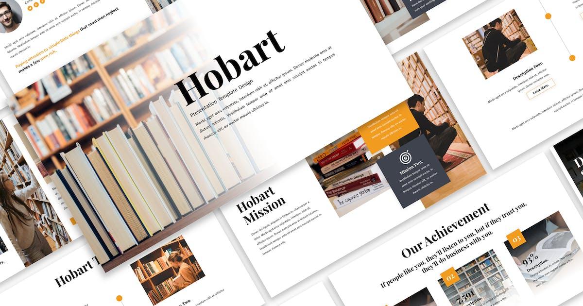 Download Hobart - Business Keynote Template by Blesstudio
