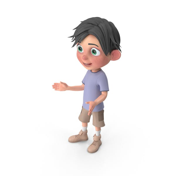 Cover Image for Cartoon Boy Jack Talking