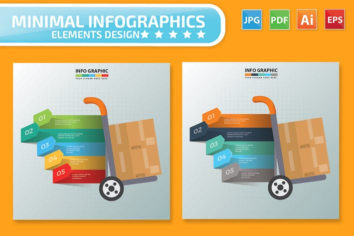 Cover Image For Cargo Infographics Design