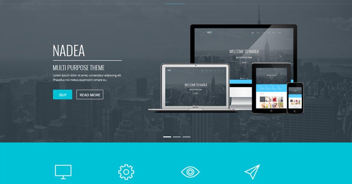 Download Nadea - Responsive Multi-Purpose HTML5 Template by webRedox
