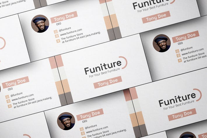 Thumbnail for Furniture - Interior Designer Business Card