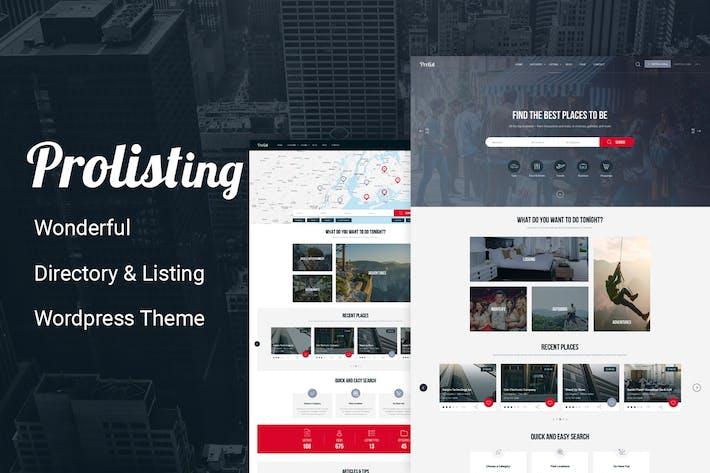 Thumbnail for Prolisting - Directory Listing WordPress Theme