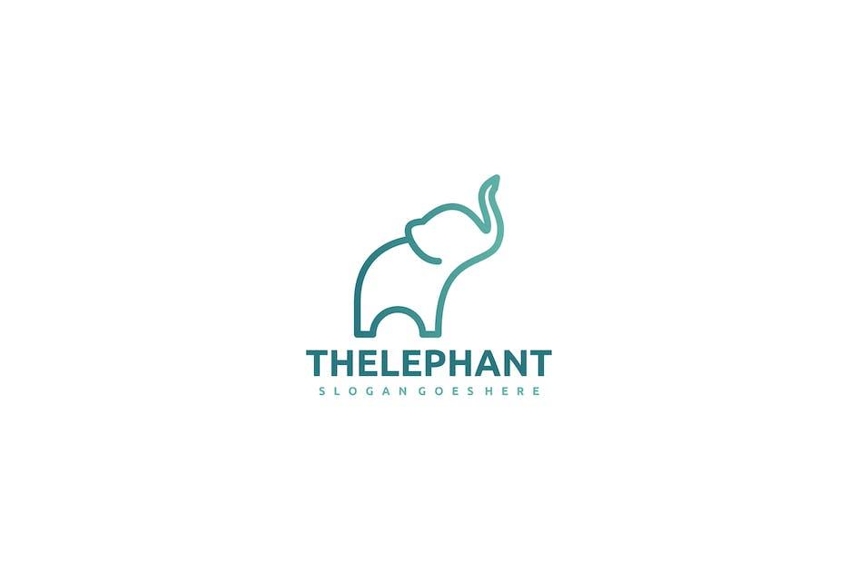 Download Elephant Logo by 3ab2ou