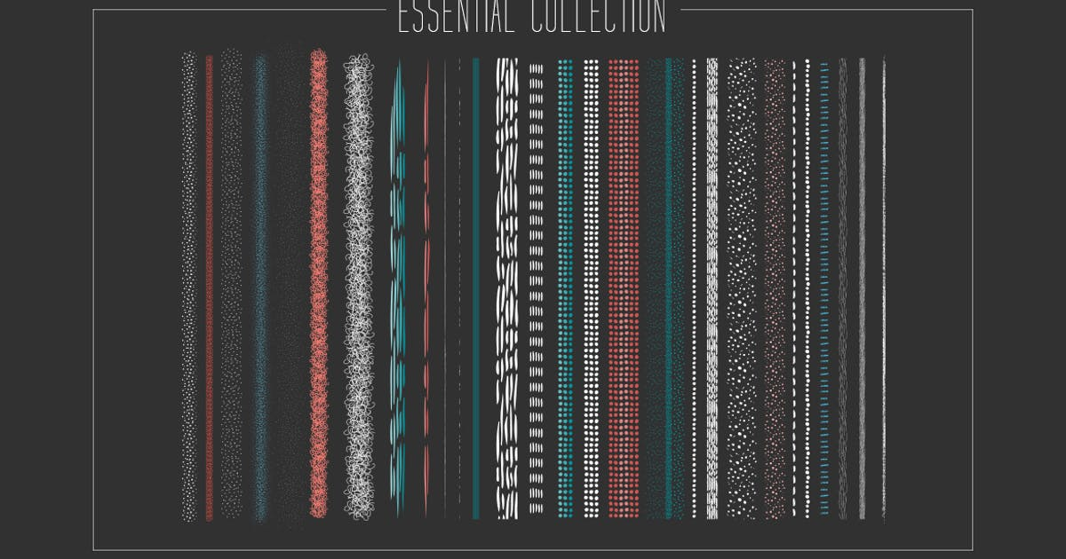 Download Essential Artistic Illustrator Brush Collection by melrodicq
