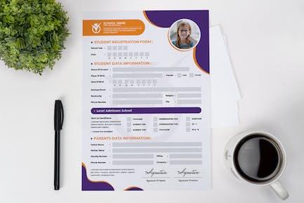 Student Register Form
