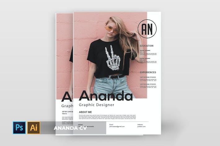 Thumbnail for Ananda | CV & Resume