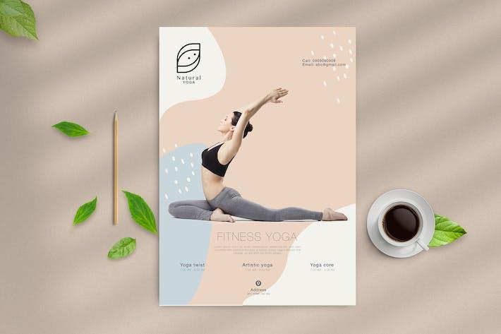 Modern Yoga Flyer 2