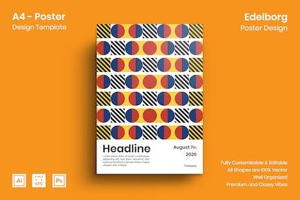 Edelborg Poster Design
