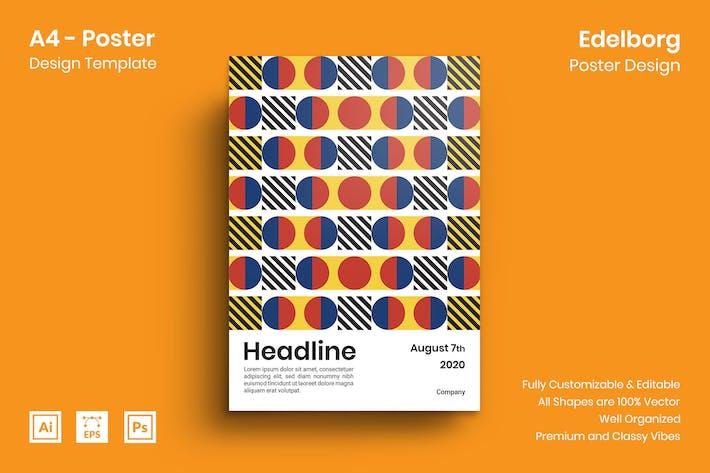 Thumbnail for Edelborg Poster Design