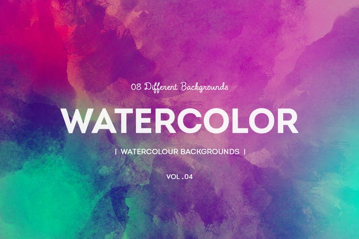 Thumbnail for Watercolor Backgrounds V4